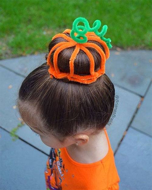 55-Creative-Crazy-Unique-Halloween-Hairstyle-Ideas-Looks-For-Little-Girls-Kids-2019-48