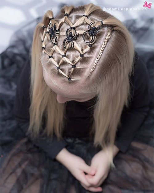 55-Creative-Crazy-Unique-Halloween-Hairstyle-Ideas-Looks-For-Little-Girls-Kids-2019-53