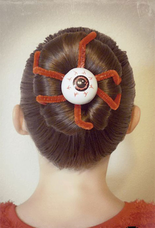 55-Creative-Crazy-Unique-Halloween-Hairstyle-Ideas-Looks-For-Little-Girls-Kids-2019-9